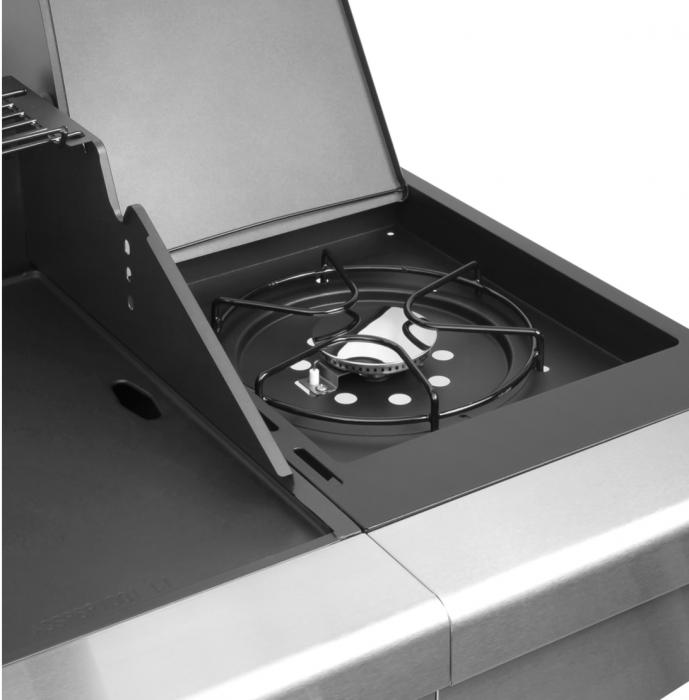 Grill gaz 5 arzatoare BBQ 5000 Master Grill Teesa argintiu [6]