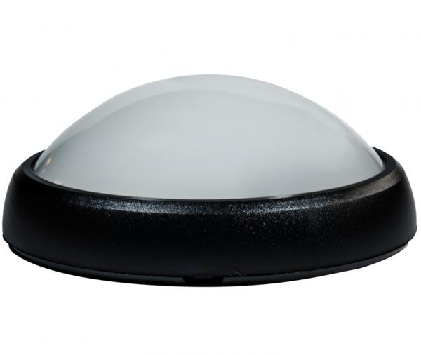 Lampa BAT LED Ovala 8W IP65 Negru [0]