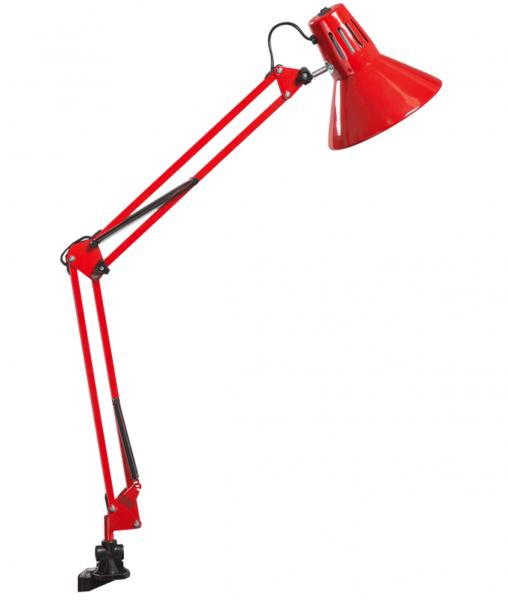 Lampa Birou Desk Rosu 1XE27 [0]