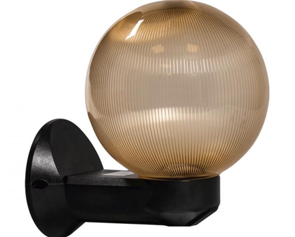 Lampa de gradina Luca cu glob Auriu 1XE27 [0]