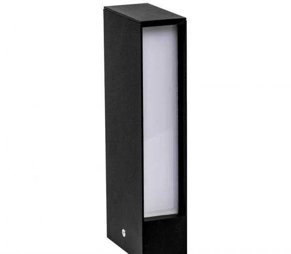 Lampa Gradina LED Wood Negru 8W 2700K [0]