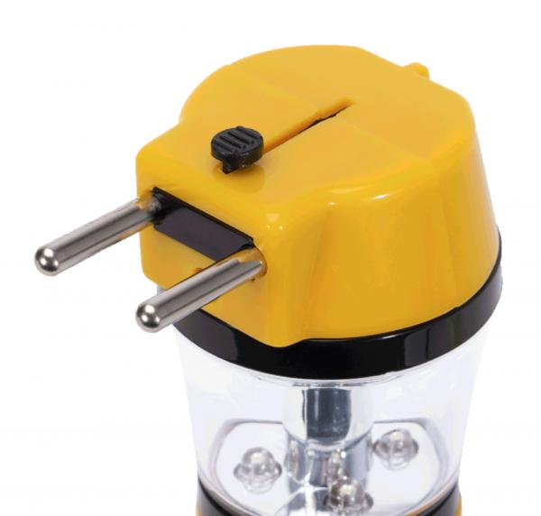 Lanterna Reincarcabila LED 4X0.1W+1X0.5W ,Galben [2]
