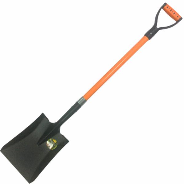 Lopata patrata ,lama din otel, dimensiune 280x230 mm, coada din fibra 1150 mm [0]