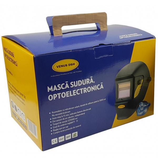 Masca de sudura optoelectronica automata, certificare EN 379:2009-07 [0]