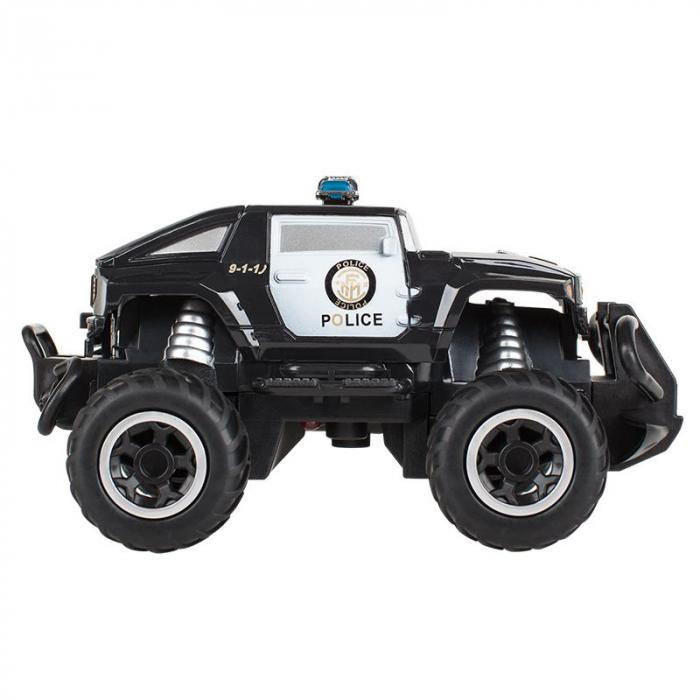 Masina cu telecomanda Mini RC Car Police Quer, scara 1:43 [5]