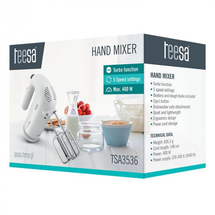 Mixer manual, TEESA, Putere de 400 W [3]