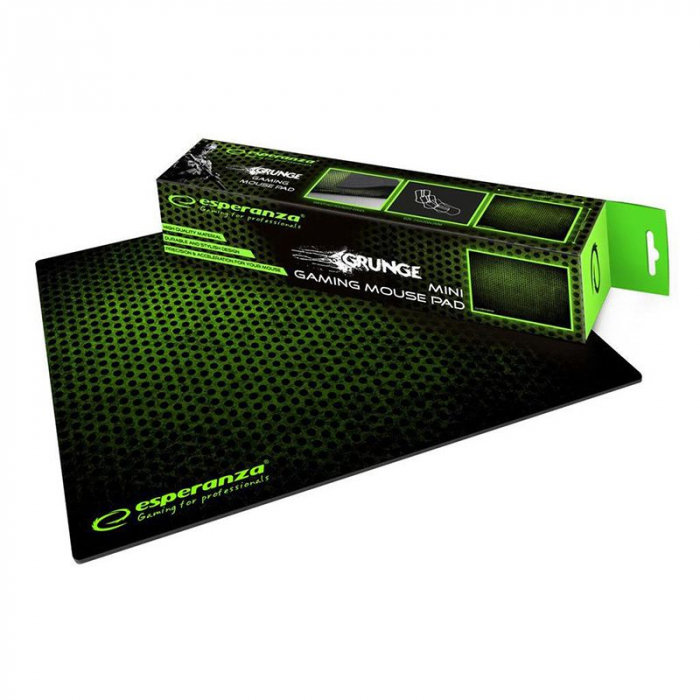 Mouse pad gaming, 30 x 24 cm, Verde [1]