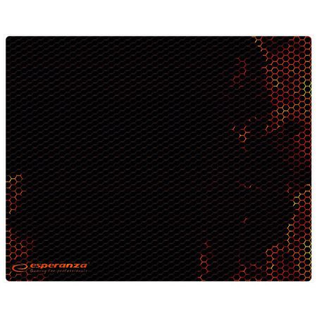 Mouse pad gaming red Esperanza 25X20 cm [0]