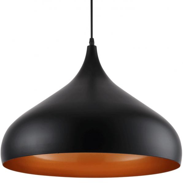 Pendul Minimalist Negru+Orange 1xE27 [0]