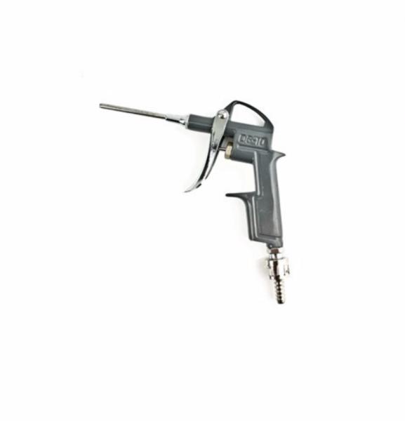 Pistol pentru suflat aer comprimat, gri, din aliaj de aluminiu, vopsit in camp electrostatic [0]