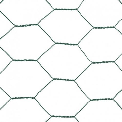 Plasa rabitz zincata ,plastifiata 1,0 X 10 metri - 1'' (25 mm) X 1.0 mm,greutate 2,88 kg [1]