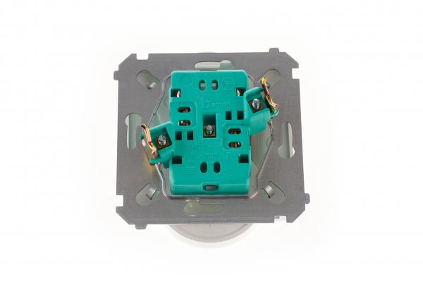 Priza dubla modulara  fara impamantare gama basic modul   kontakt [3]