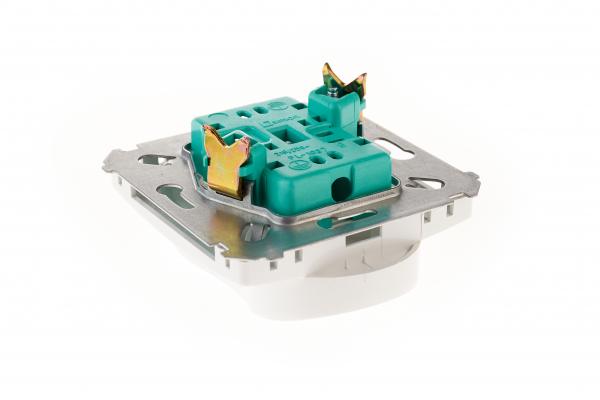 Priza dubla modulara  fara impamantare gama basic modul   kontakt [2]