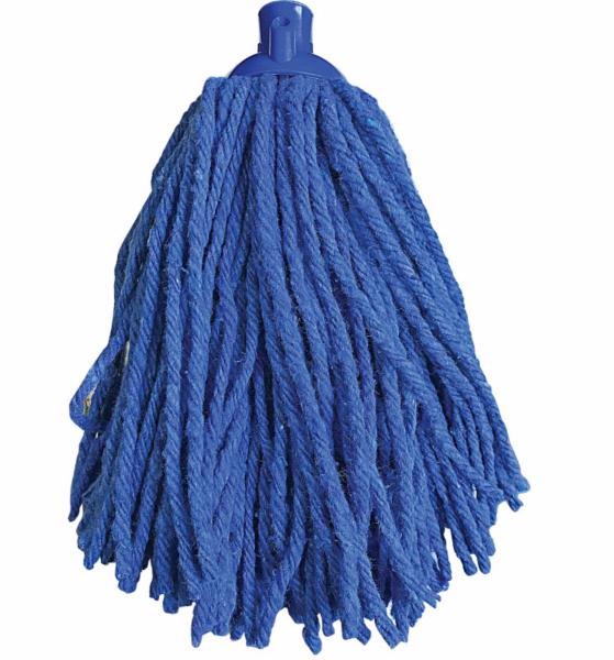 Rezerva de mop din bumbac ,culoare albastru, 250 g [0]