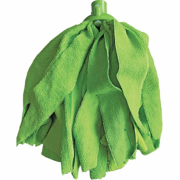Rezerva de mop din microfibra,verde, greutate 140 g [0]