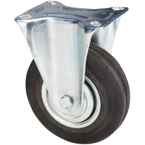 Roata furca fixa 100 x 30 mm , greutate maxima suportata 70 kg , greutate produs 611 grame [0]