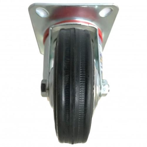 Roata furca pivotanta 125 x 34 mm , greutate maxima suportata 100 kg , greutate produs 1007 grame [2]