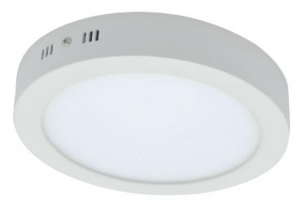 Spot LED aplicat,rotund, 12W,lumina zilei(4000k),840lm,IP20 [0]