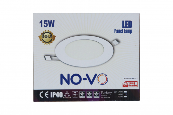 Spot LED incastrabil 15W,1500lm,lumina zilei(4000k),IP40 [1]