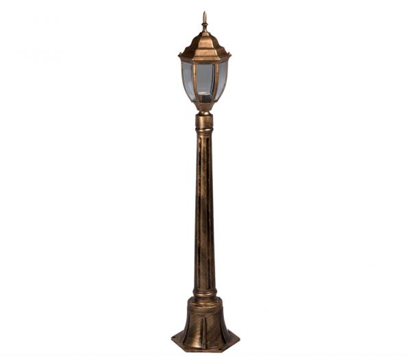 Stalp cu lampa de gradina Corint 120 Antic 1XE27 [0]