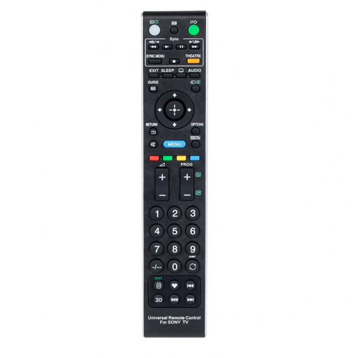 Telecomanda universala LED TV Sony, Negru [0]