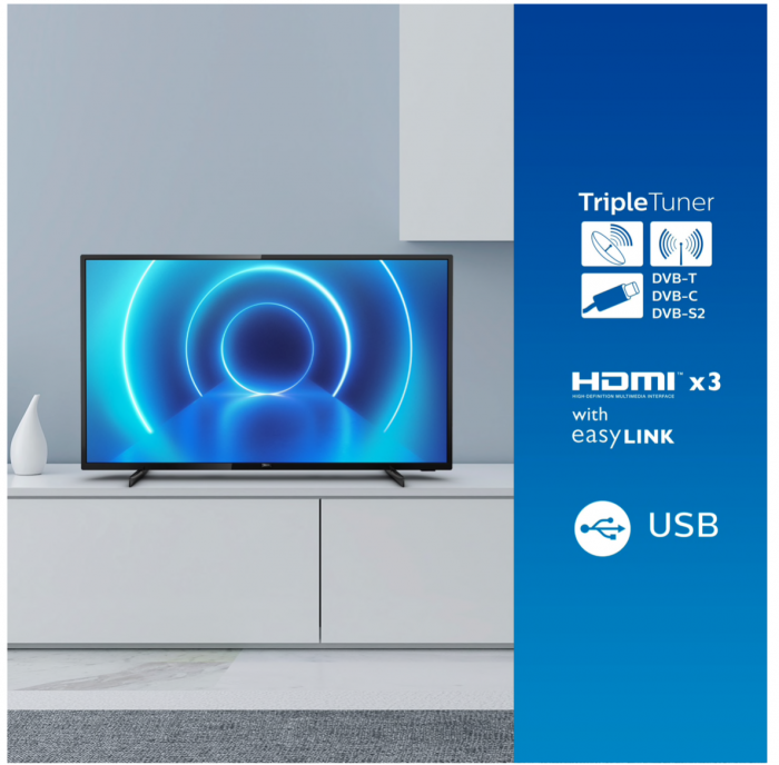 Televizor Philips 43PUS7505/12, 108 cm, Smart, 4K Ultra HD, LED, Clasa A [2]