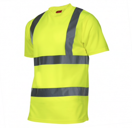 Tricou reflectorizant Lahti Pro, marimea M, verde [0]