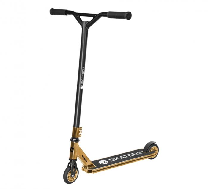 Trotineta Rebel SKATER PRO Gold pentru acrobatii [0]