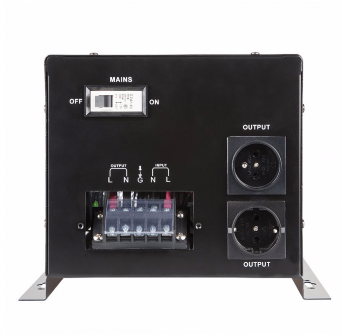 UPS centrala termica, unda pura sinusoidala, 1600W, montabil pe perete [2]