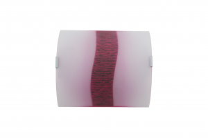 Aplica Tina , 1 x E27, sticla roz degradeu [0]