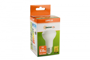 Bec LED R63, E27, 8 W, 630 lm, 2700-3200 K [2]