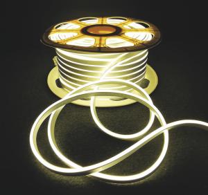 Neon Flex 92 LED-uri, IP44 ,alb cald - 1M [0]