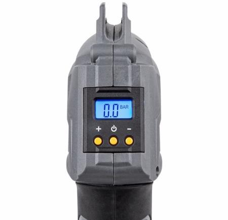 Compresor cu aer Rebel, acumulator, afisaj LCD iluminat [7]