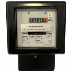Contor pasant, Iskra 5031H, monofazat 230V, 50Hz, 10(40)A [0]