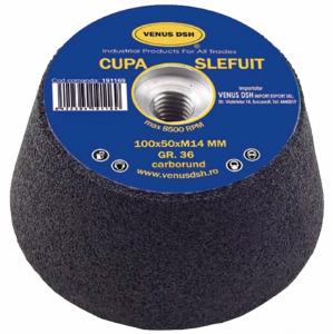 Cupa pentru slefuit, granulatie 36,100 x 50 mm [0]