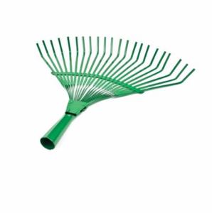 Grebla din otel carbon,  vopsit verde cu 22 dinti pentru frunze [0]