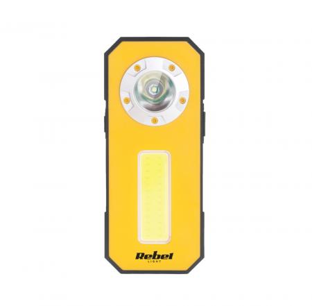 Lampa atelier mini 300 lm cu powerbank Rebel [5]