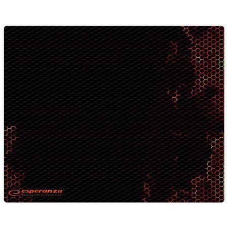 Mouse pad gaming, 30 x 24 cm, Rosu [0]
