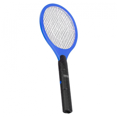 Paleta electrica cu baterii 3W, 1500V pentru muste, tantari si alte insecte, 46x17 cm, TEESA, albastru/negru [0]