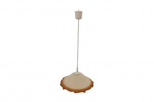 Pendul Szaffi , 1X E27, culoare sticla rosu degradeu, lungime cablu 1,2m [0]