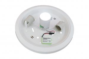 Plafoniera cu senzor de miscare 360 grade no-vo  2xe27 si kit emergenta [1]