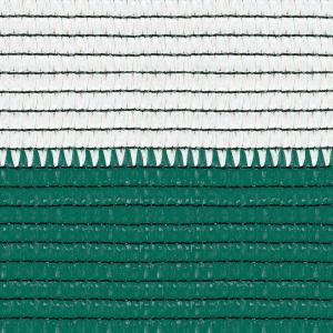 Plasa umbrire 1,5 metri X 10 metri, verde- alb , 80 grame/mp , greutate 1,3 kg [1]