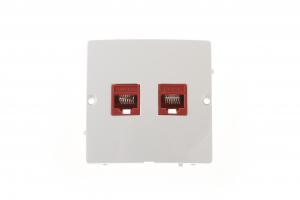 Priza ST  de date( RJ45) dubla  gama basic modul kontakt [0]