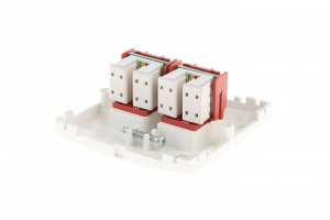 Priza ST  de date( RJ45) dubla  gama basic modul kontakt [2]