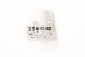 Priza telefon RJ11 modulara,1M,alb MASTER [1]