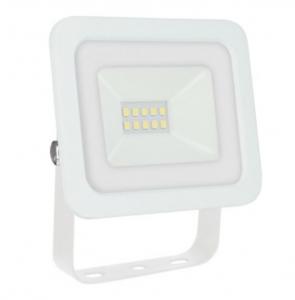 Proiector led 10 w, lumina rece,830 lm, ( 6000 k ), IP 65 , 230 v,clasa a++,carcasa aluminiu alba [0]