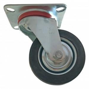 Roata furca pivotanta 200 x 46 mm , greutate maxima suportata 185 kg , greutate produs 2775 grame [0]