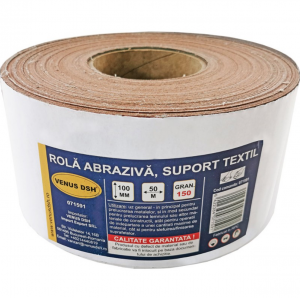 Rola abraziva, suport textil, 150 (100 mm x 50 m) [0]