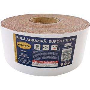 Rola abraziva, suport textil, 60 (100 mm x 50 m) [0]