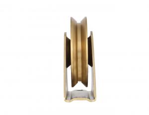 Rola poarta 60 mm cu suport, canal u 14,5 mm [1]